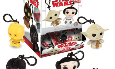 New Classic Star Wars Plush Mystery Mini Keychains Coming Soon!