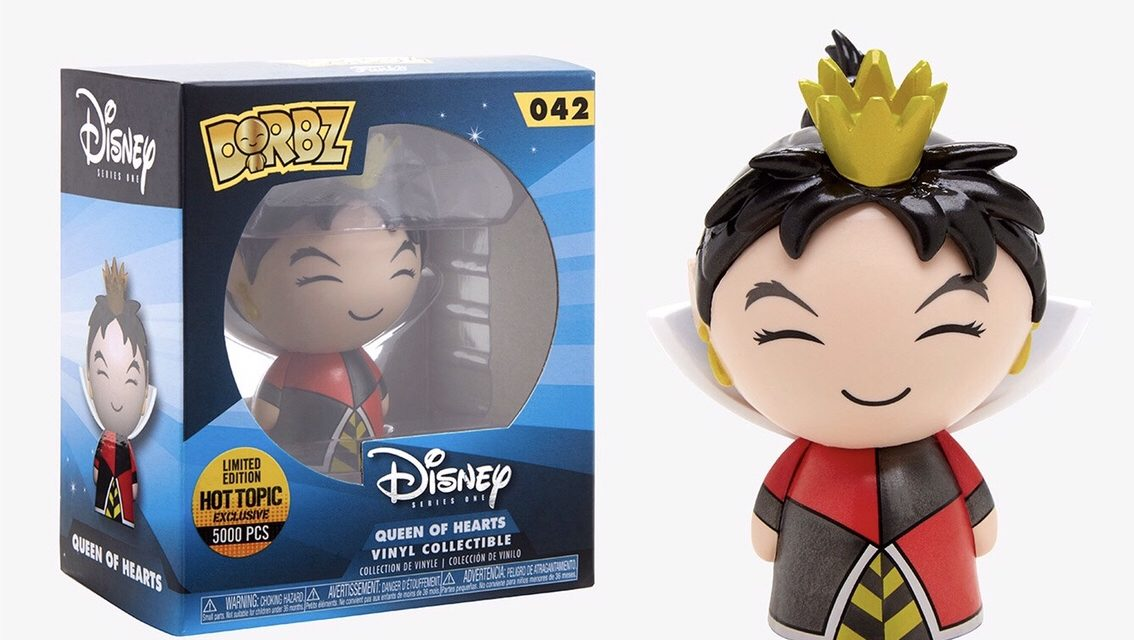 New Hot Topic Exclusive Metallic Queen of Hearts now available!