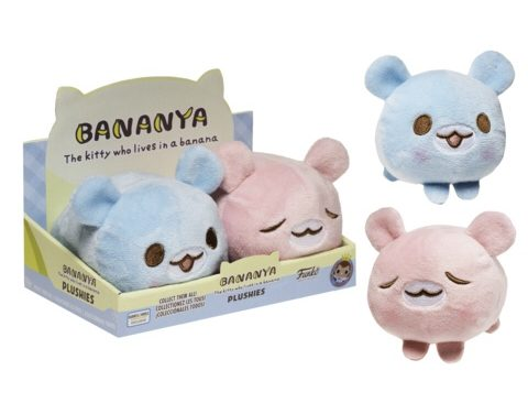 Previews of the upcoming Hot Topic and Barnes & Noble Exclusive Bananya Plush!