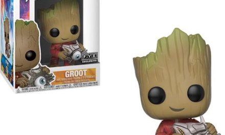 New FYE Exclusive Groot with Cyber Eye Pop! Vinyl Now Available Online!
