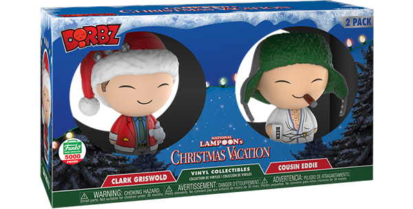 New Funko Shop Exclusive Christmas Vacation Clarke and Cousin Eddie Dobz set Now Available!