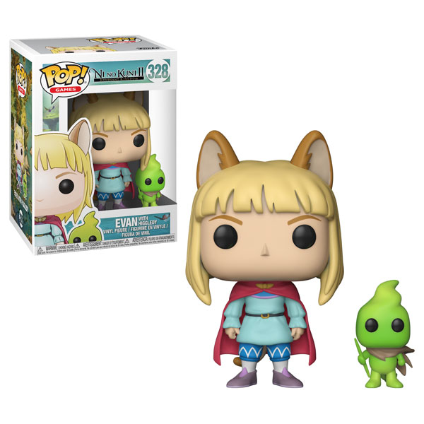 Previews of the new Ni No Kuni 2 Pop! Vinyls released!