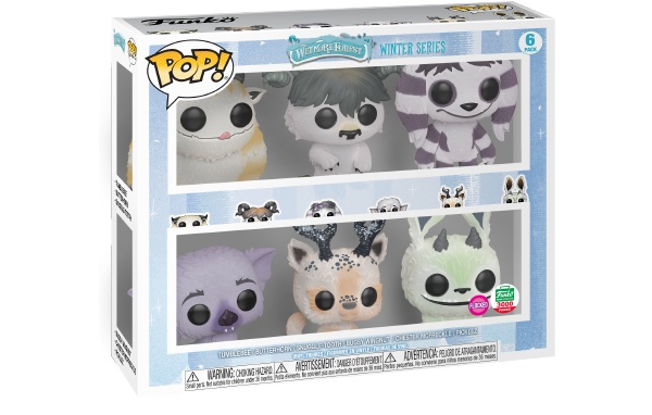 New Funko Shop Exclusive Pop! Monsters Flocked Winter Series 6-pack Now Available!