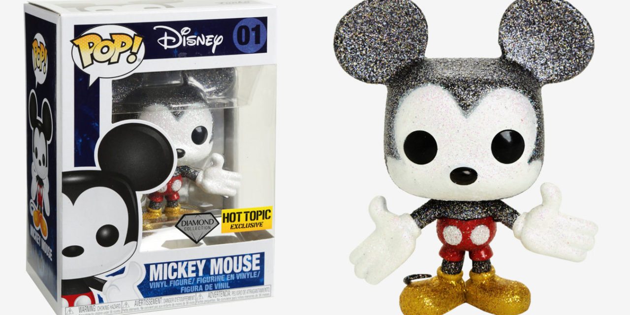 New Hot Topic Exclusive Diamond Collection Mickey Mouse Pop! Vinyl Now Available Online!