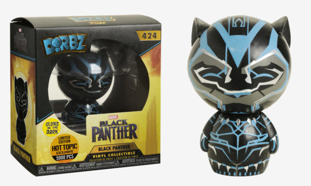 New Hot Topic Exclusive Glow-in-the-Dark Black Panther Dorbz Now Available Online!