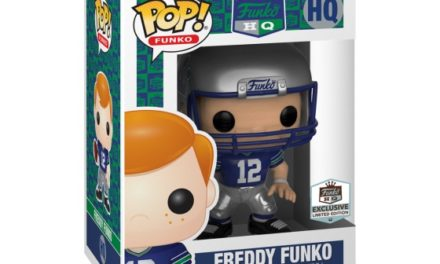 New Funko Shop Exclusive Football Throwback Freddy Funko Pop! Vinyl Released!