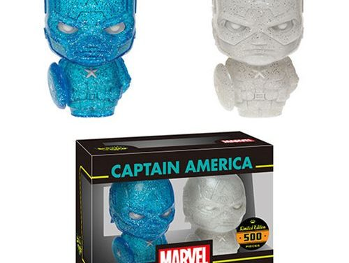 New Blue and White Captain America XS Hikari Set Coming Soon!