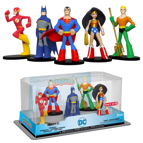 New DC, Power Rangers, Scooby-Doo, Teen Titans Go! and FNAF HeroWorld Figures Coming Soon!