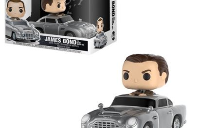 Preview of the upcoming James Bond with Aston Martin Pop! Ride!