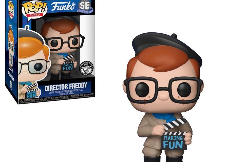 Preview of the Making Fun Premiere Exclusive Director Freddy Pop! Vinyl!