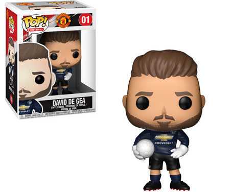 Previews of the upcoming Premier League Pop! Vinyls!