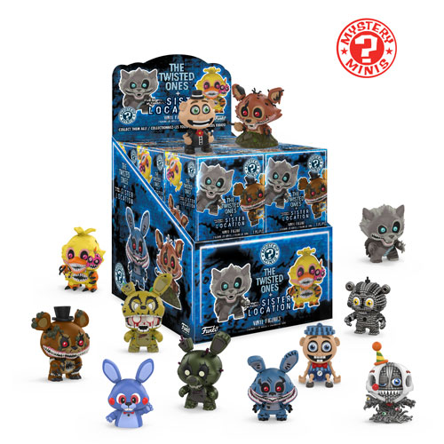 A look at the newest series of Five Nights at Freddy's Mystery Minis!