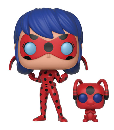 Previews of the new Miraculous – Tales of Ladybug & Cat Noir Pop! Vinyls Released!