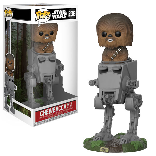 New Star Wars Chewbacca in AT-ST Pop! Deluxe Coming Soon!