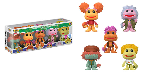 New Funko Shop Exclusive Flocked Fraggle Rock Set Released!