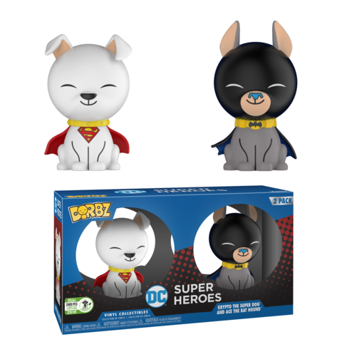 Previews of the upcoming 2018 Emerald City Comic Con DC Exclusives!