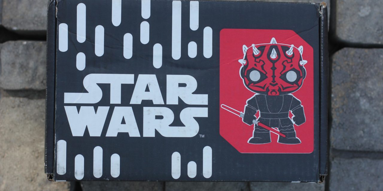 Review of the new Star Wars Smugglers Bounty: Sith Box by Funko (Spoilers)