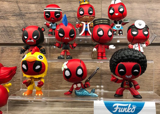 Detailed Look at the new Marvel Collectibles at the Funko booth at New York Toy Fair!