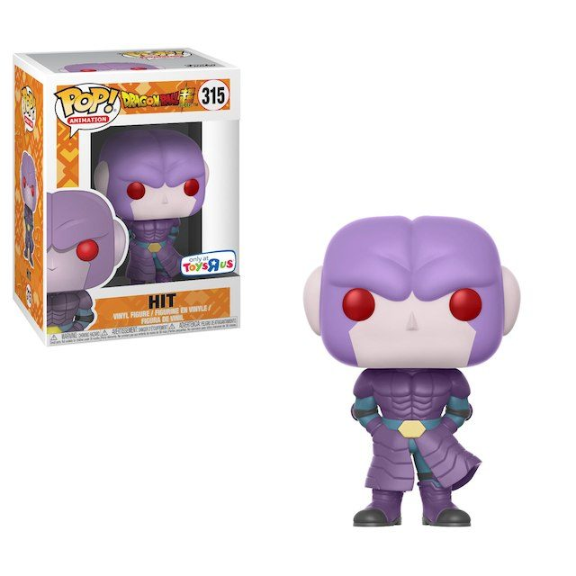 """New Toys """"R"""" Us Exclusive Dragon Ball Super Hit Pop! Vinyl Now Available Online!"""