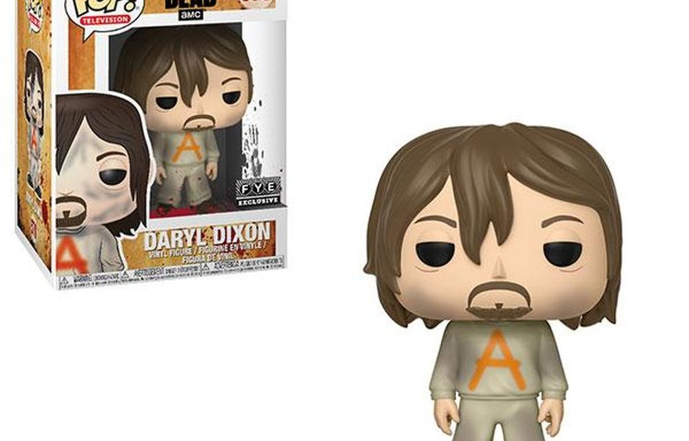 New FYE Exclusive The Walking Dead Prison Suit Daryl Dixon Pop! Vinyl Now available for pre-order!