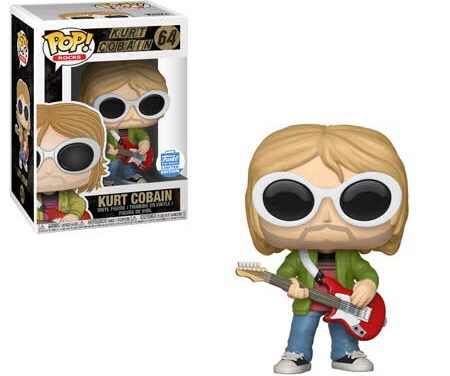 New Funko Shop Exclusive Kurt Cobain Pop! Vinyl Released!