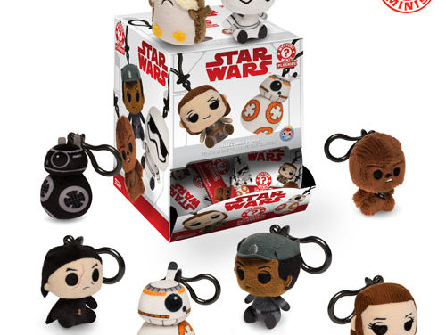 New Star Wars: The Last Jedi Plush Keychain Blind Bags Coming Soon!