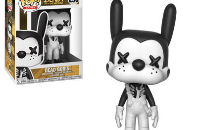 Previews of the upcoming Bendy and the Ink Machine Pop! Vinyls!