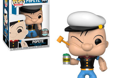 New Specialty Series Popeye and Krypto the SuperDog Pop! Vinyls Coming Soon!