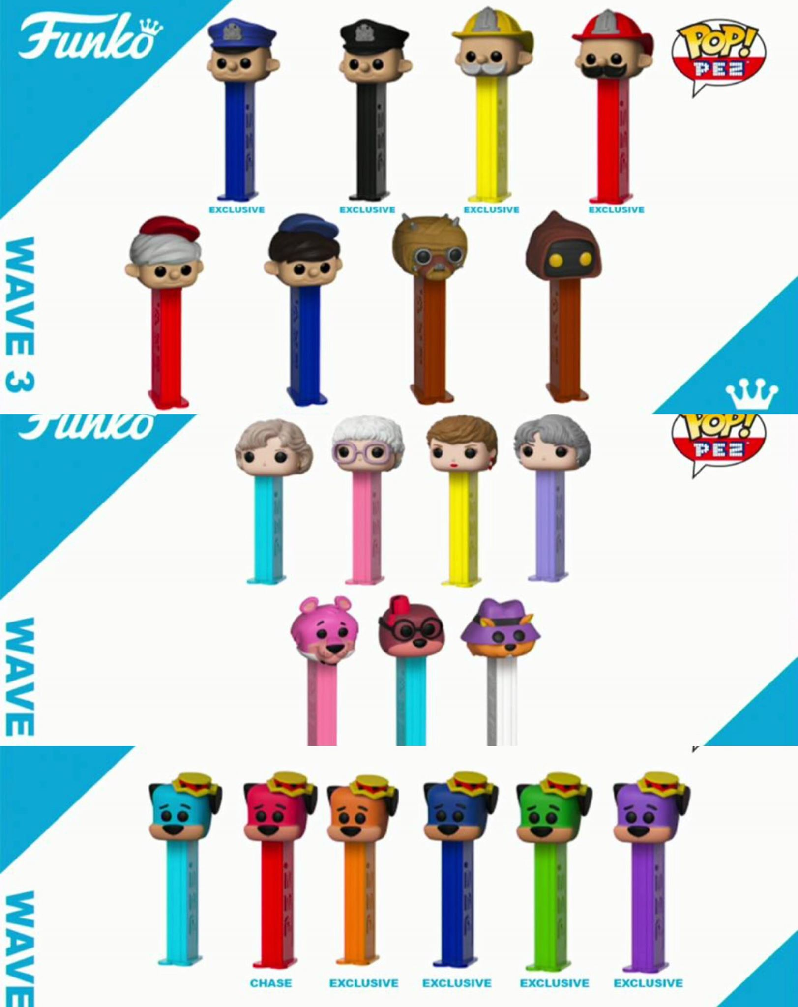 Previews Of The Upcoming Pop Pez From Funko Pop Vinyl