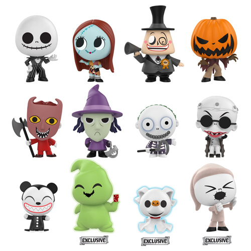 Nightmare Before Christmas Icons.Previews Of The New Nightmare Before Christmas Vynl Sets