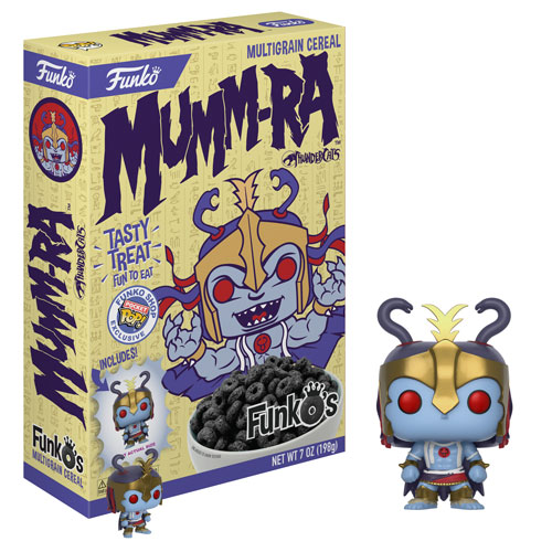 New Funko Shop Exclusive Mumm-Ra FunkO's Cereal To Be