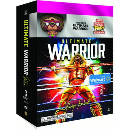 New Walmart Exclusive WWE Pop! Keychain + DVD Bundles Now Available