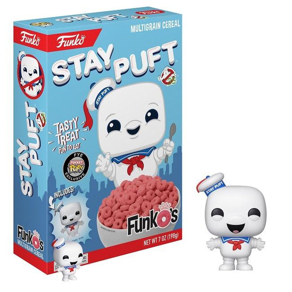 New FYE Exclusive Ghostbusters Stay Puft FunkO's Now