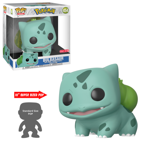 New Target Exclusive 10″ Bulbasaur Pop! Vinyl Coming Soon!