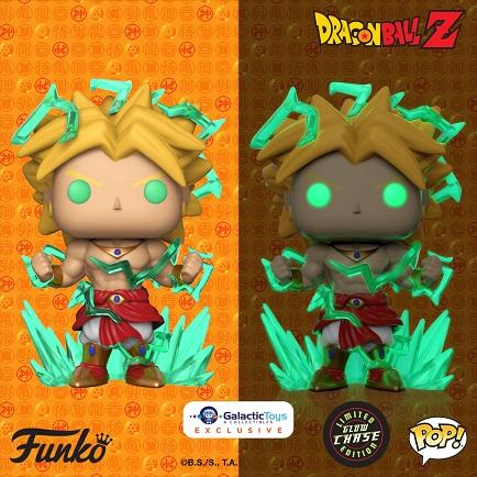 New Galactic Toys Exclusive Dragon Ball Z Broly Pop! Vinyl + 1:6 Chase Now Available Online!