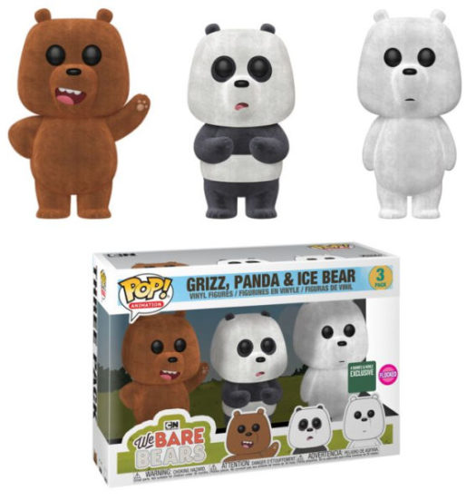 Funko On Twitter Toy Fair New York Reveals Yu Yu: New Barnes And Noble We Bare Bears Pop! Vinyl 3-pack Now
