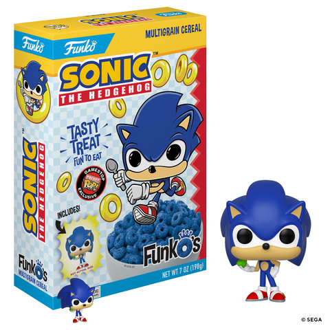 Closer Look At The Upcoming Gamestop Exclusive Sonic The Hedgehog Funko S Cereal Pop Vinyl World