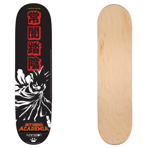 0c4539d6d10b A look at the SDCC Exclusive My Hero Academia Skateboard Deck by Funko!