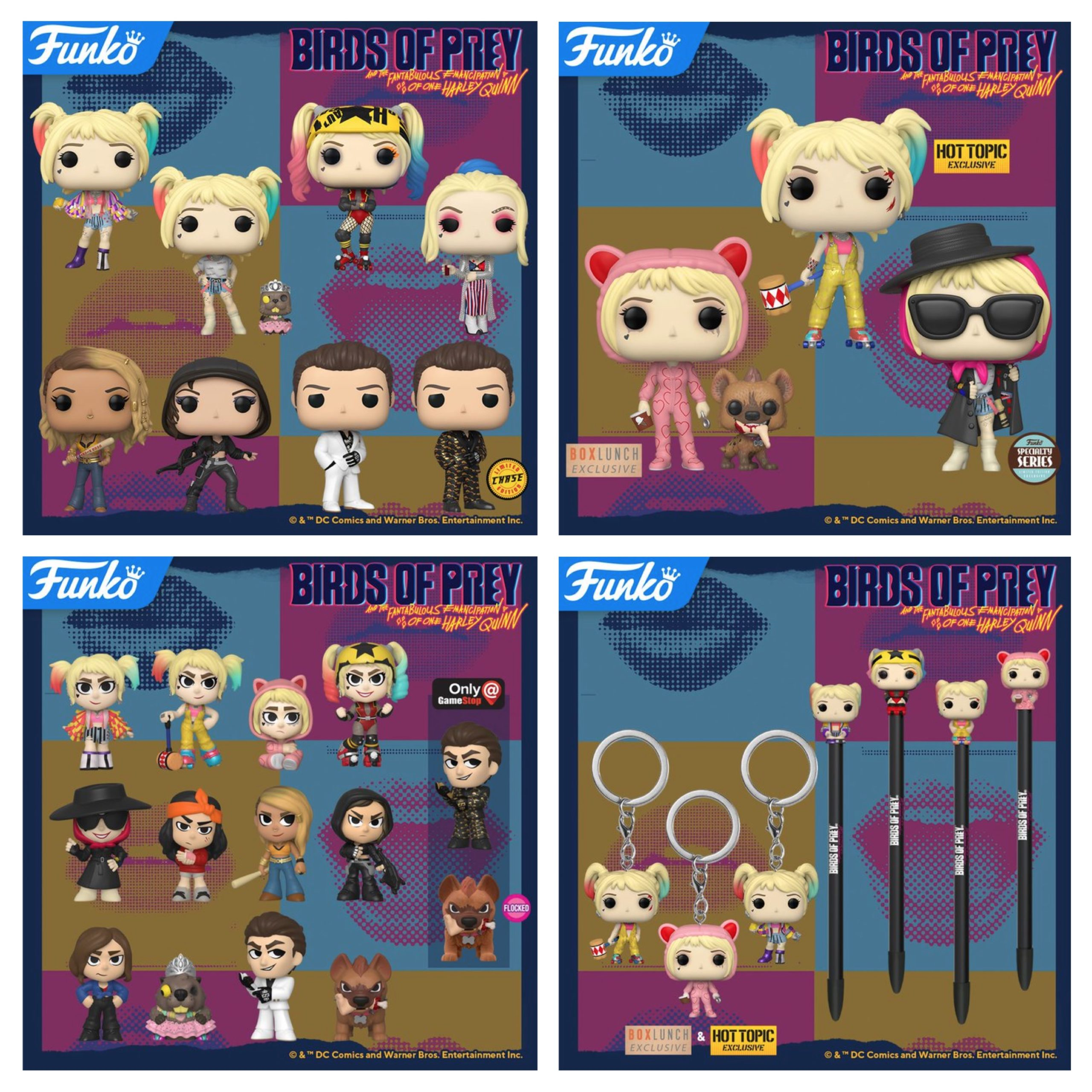 New Collection Of Birds Of Prey Pop Vinyls Mystery Minis Pocket Pop Keychains And Pop Pens Coming Soon Pop Vinyl World
